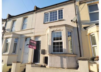 Thumbnail 2 bed terraced house for sale in Holcombe Road, Rochester