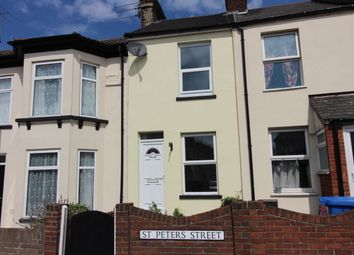 Thumbnail 3 bedroom terraced house to rent in St. Peters Street, Lowestoft