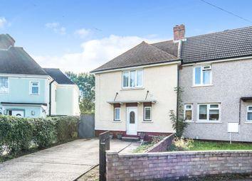 Thumbnail End terrace house for sale in Fenlake Road, Shortstown, Bedford