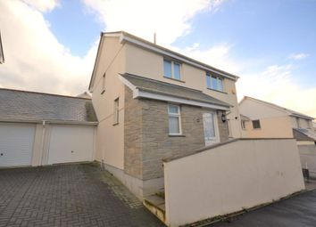 Thumbnail 3 bedroom link-detached house for sale in Skitta Close, Callington, Cornwall
