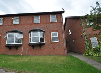 Thumbnail 3 bed semi-detached house for sale in Delhi Close, Burton-On-Trent