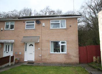 Thumbnail 3 bed end terrace house for sale in Melbreck, Skelmersdale, Lancashire