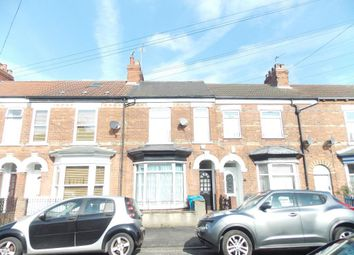 Thumbnail 4 bed terraced house for sale in Raglan Street, Kingston Upon Hull