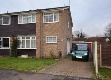 Thumbnail 3 bed semi-detached house to rent in Tern Close, Kelvedon, Colchester