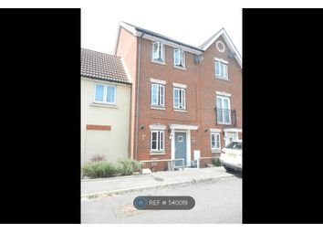 Thumbnail 4 bedroom terraced house to rent in Ditton Way, Ipswich