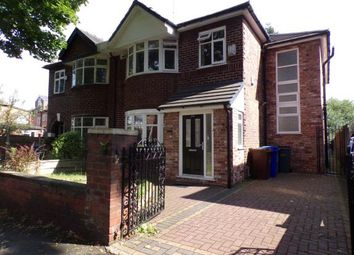 Thumbnail 4 bedroom semi-detached house for sale in Kingsbrook Road, Manchester, Greater Manchester