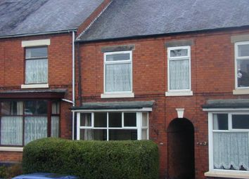 Thumbnail 2 bed terraced house to rent in Belvedere Road, Burton-On-Trent