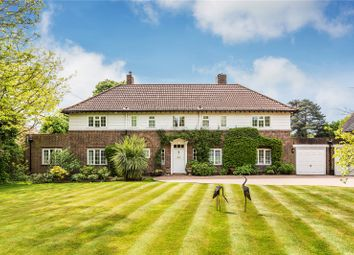 Thumbnail 4 bed detached house for sale in Manor Road, Reigate, Surrey
