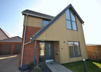 Thumbnail 3 bed detached house for sale in Conroy Close, Sprowston, Norwich