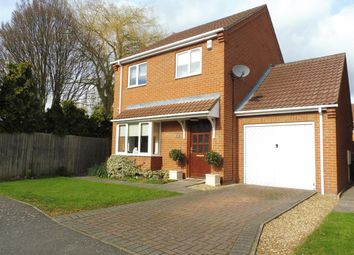 Thumbnail 3 bed detached house for sale in Viking Way, Whittlesey, Peterborough