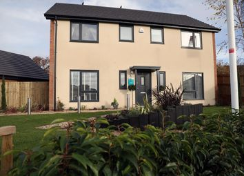 Thumbnail 4 bed detached house for sale in Off Caerleon Road, Dinas Powys Cardiff