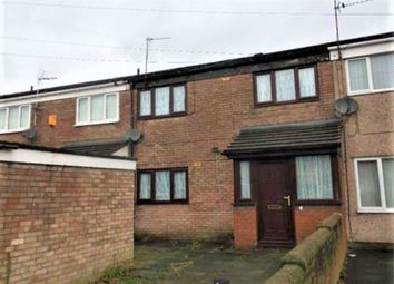 Thumbnail 3 bed terraced house to rent in Alvina Lane, Kirkby, Liverpool