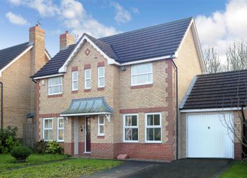 Thumbnail 3 bed detached house for sale in Seathwaite Close, West Bridgford, Nottingham