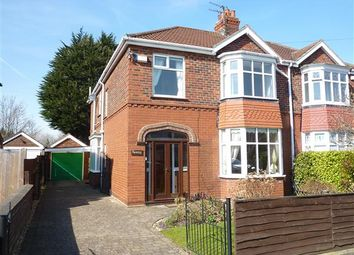Thumbnail 4 bed semi-detached house for sale in Charles Avenue, Scartho, Grimsby