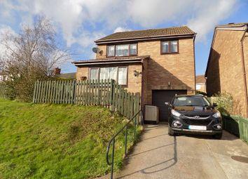 Thumbnail 4 bed detached house for sale in Ffordd Y Parc, Litchard, Bridgend .