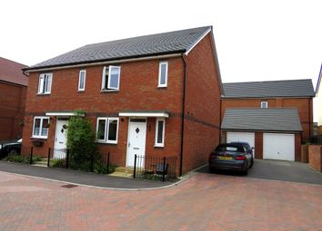 Thumbnail 3 bed semi-detached house for sale in Parsons Close, Rugby