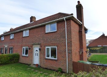 Thumbnail 3 bedroom semi-detached house for sale in Manor Road, Long Stratton, Norwich