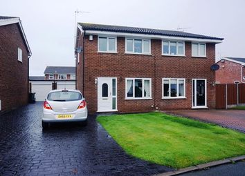 Thumbnail 3 bed semi-detached house to rent in Lancaster Close, Winsford, Cheshire