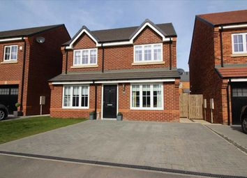 Thumbnail 3 bed detached house for sale in Rouen Crescent, Barley Meadows, Cramlington