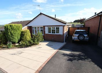 Thumbnail 3 bed detached bungalow for sale in Brindley Crescent, Cheddleton, Staffordshire