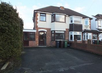 Thumbnail 3 bed semi-detached house to rent in Irving Road, Solihull