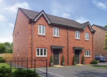 Thumbnail 3 bed semi-detached house for sale in Dark Lane, Morpeth, Northumberland