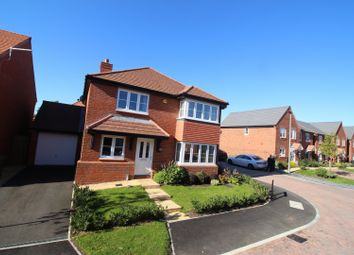 Thumbnail 4 bed detached house for sale in Poppy Close, Northwich, Cheshire