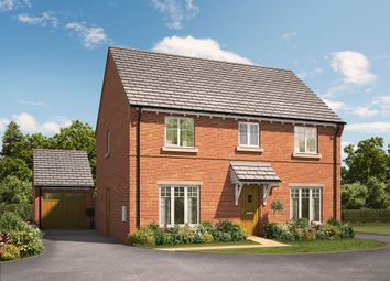 "Thumbnail 4 bed detached house for sale in ""The Elder"" at Knightley Road, Gnosall, Stafford"