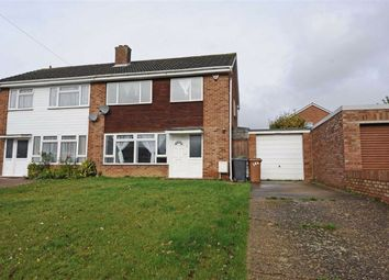 Thumbnail 3 bed semi-detached house to rent in Henshaw Road, Wellingborough