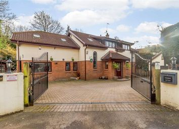 Thumbnail 5 bedroom detached house for sale in Tregarn Road, Langstone, Newport Gwent