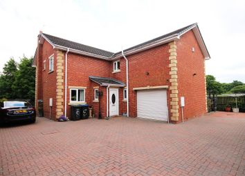Thumbnail 4 bed detached house for sale in Station Avenue, Esh Winning, Durham