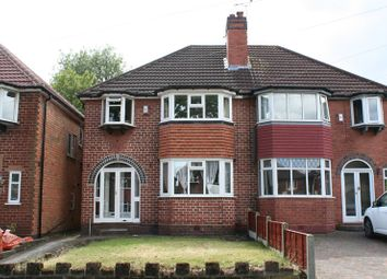 Thumbnail 3 bed semi-detached house for sale in Vibart Road, Yardley, Birmingham