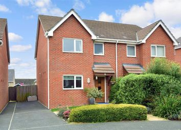 Thumbnail 3 bed semi-detached house for sale in Beadmans Grove, Newport, Isle Of Wight