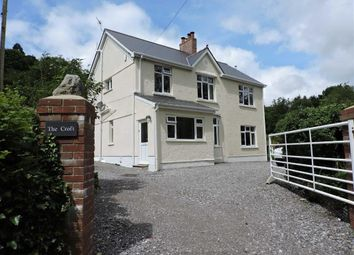 Thumbnail 4 bed detached house for sale in Glanrhyd Road, Pontardawe, Swansea