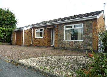Thumbnail 2 bed bungalow to rent in Thistle Close, Cropston, Leicester