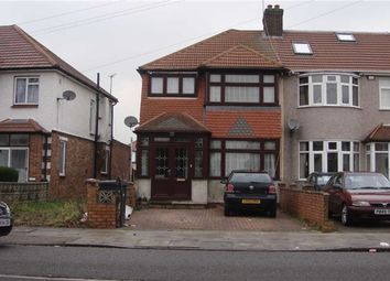Thumbnail 3 bed terraced house to rent in Somerset Road, Southall, Middlesex