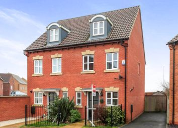 Thumbnail 3 bedroom semi-detached house for sale in Evergreen Drive, Hampton Hargate, Peterborough