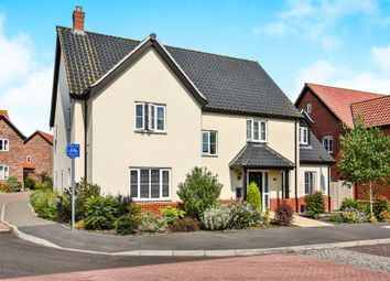 Thumbnail 5 bedroom detached house for sale in Victory Avenue, Poringland, Norwich