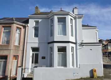 Thumbnail 3 bedroom end terrace house for sale in West Hill Road, Plymouth, Devon