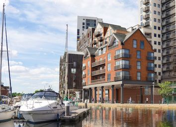 Thumbnail 2 bedroom flat for sale in Regatta Quay, Key Street, Ipswich