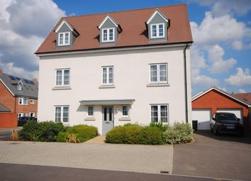 Thumbnail 5 bed detached house for sale in Emberson Croft, Broomfield, Chelmsford