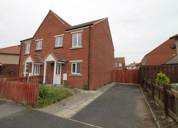 Thumbnail 3 bedroom semi-detached house for sale in Harris Crescent, Carlisle