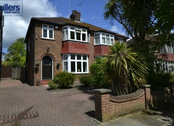 Thumbnail 3 bed semi-detached house for sale in Fountains Crescent, London