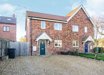 Thumbnail 3 bed semi-detached house for sale in Mill Lane, Syderstone, King's Lynn