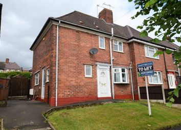 Thumbnail 2 bedroom semi-detached house to rent in St. Augustines Mount, Chesterfield