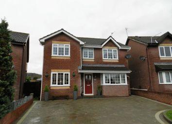 Thumbnail 4 bed detached house for sale in Heol Bryncwtyn, Pencoed, Bridgend