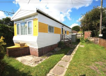 Thumbnail 1 bedroom mobile/park home for sale in Whitehaven Home Park, Blackfield, Southampton