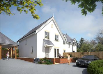 Thumbnail 3 bed semi-detached house for sale in Portman Road, Pimperne, Blandford Forum