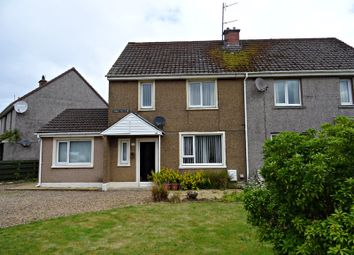 Thumbnail 3 bed semi-detached house for sale in Creetown, Newton Stewart