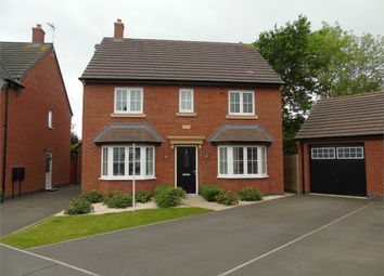Thumbnail 4 bed detached house for sale in Abbott Drive, Stoney Stanton, Leicestershire